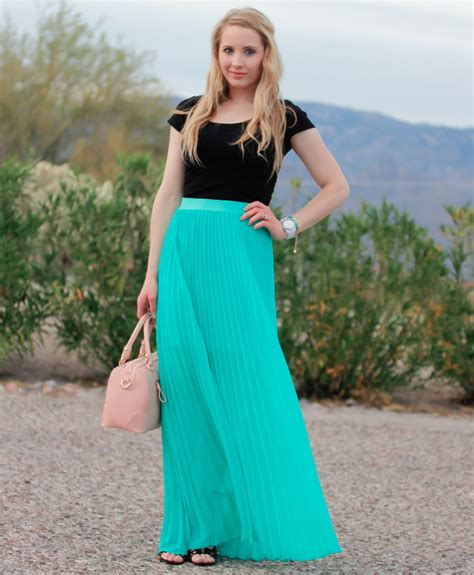 how to wear pleated skirts 2014 trends