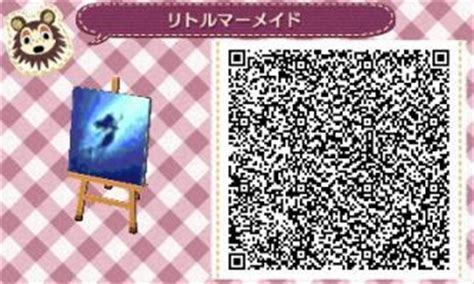 flag pattern new leaf qr codes little mermaids and mermaids pattern on pinterest