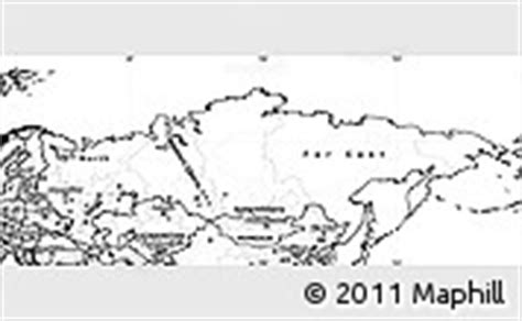 russia map black and white flag simple map of russia