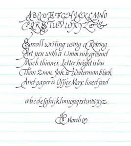 Decorative Writing Italic Struggles