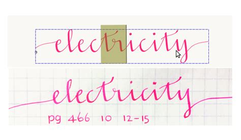 Wedding Font With Tails by How To Design And Construct A Functional Cursive Font