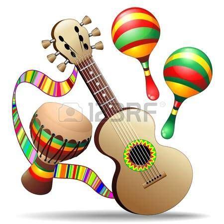 imagenes instrumentos musicales salsa mejores 14 im 225 genes de 15 de septiembre en pinterest