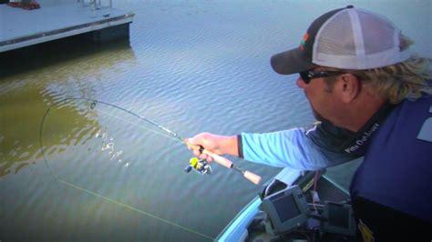 dock shooting  crappie fishing success crappie