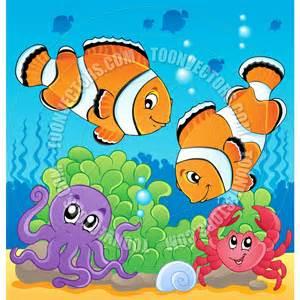 Undersea cartoon cartoon image with undersea theme by clairev toon