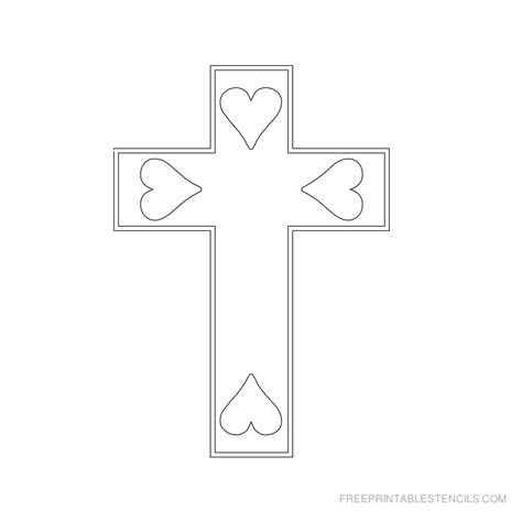 printable religious stencils printable cross stencils related keywords printable