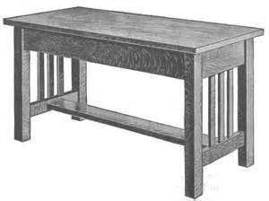 mission style bench plans pdf diy mission bench plans download make wooden footstool