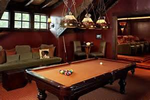 Pool Table In Living Room Colorado Equestrian Ranch House Of The Day Photos Of The Chandelier And Caves