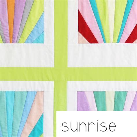 sunrise pattern works ahmedabad the sunrise quilt pattern carolyn friedlander