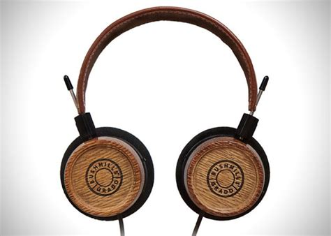 Handmade Headphones - grado headphones handmade from whiskey barrels hiconsumption