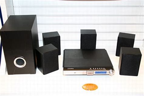 audiovox shows dv7600xm xm mini tuner home theater system