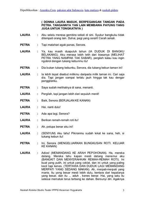contoh naskah film untuk anak sekolah contoh drama 4 orang pemain contoh yes