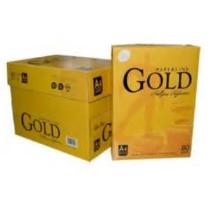 Paperline Gold F4 by Paperline Gold A4 Copy Paper 80gsm Sheet Size 210mm X
