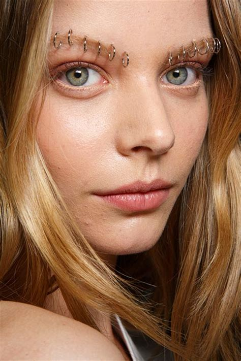 trend darker brows the bold eyebrow trend for spring 2015 hairstyles nail