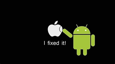 apple android android cannot do that to apple apple wallpaper