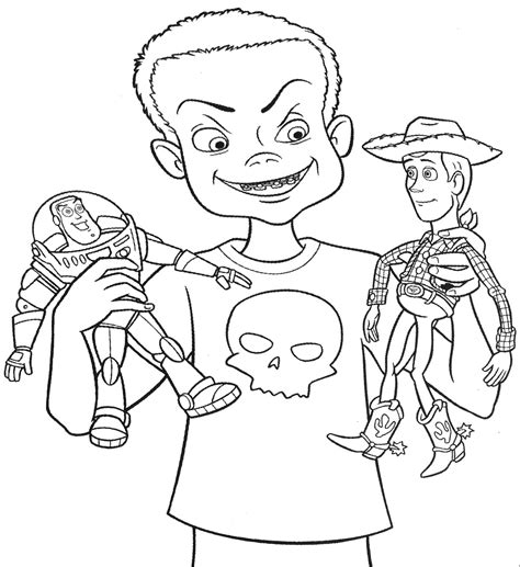 Coloring Pages For Kids Toy Story Printable Coloring Pages Story Coloring Pages