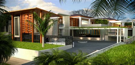 tropical house design indonesia house design