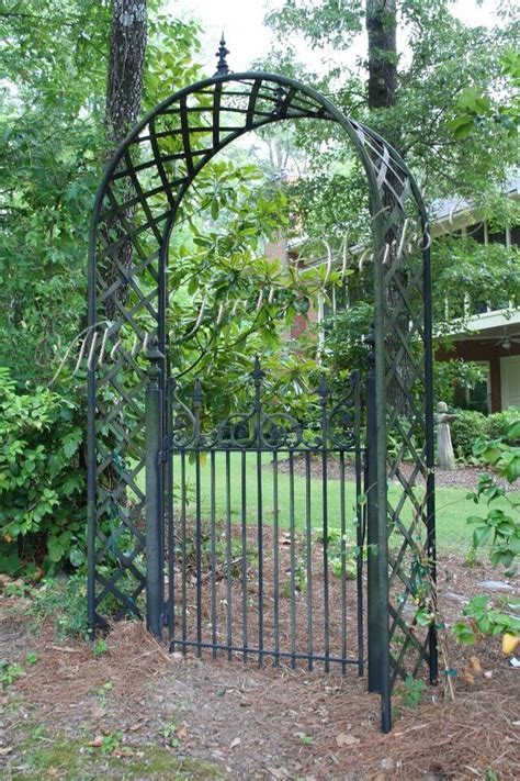 Garden Gate Shoals Al by Iron Fencing Birmingham Al Allen Iron Works