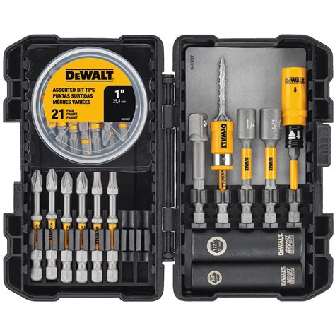dewalt max impact bit set 35 dwami35 the home depot
