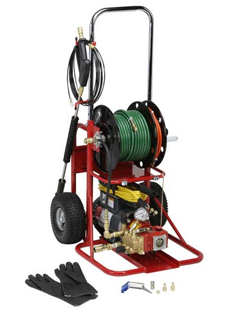 model 717 electric mini sewer jetter spartan tool