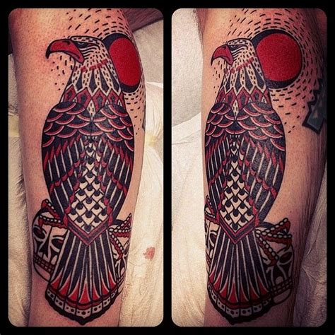 eagle by el monga sasturain aloha tattoos barcelona
