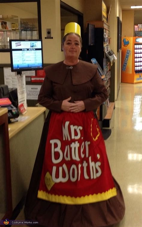 ms butterworth costume
