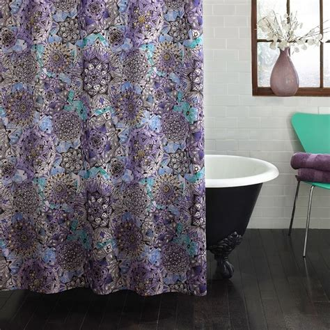 grey and purple shower curtain 25 best ideas about purple shower curtains on pinterest