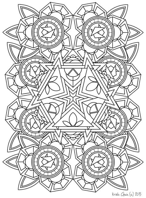 mandala coloring pages zen mandala coloring page from zen out vol 1 by