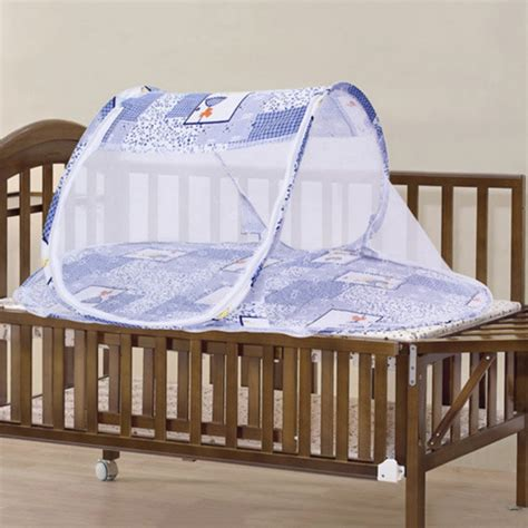 Foldable Baby Kids Infant Cradle Mosquito Net Bed Crib Canopy For Baby Crib