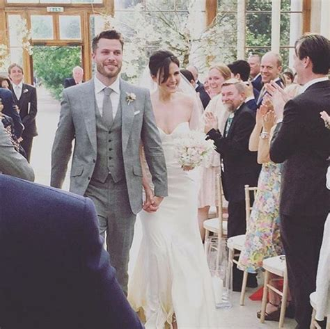 Rick Edwards marries former EastEnders actress Emer Kenny