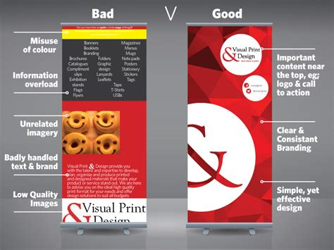 banner design good roller banner design tips