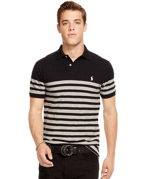 polo ralph striped polo shirt polo ralph
