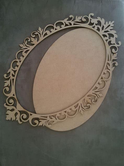 decorarte laser moldura oval arabesca decorarte laser elo7