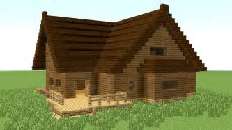 How To Build A House by Minecraft How To Build Big Wooden House 4 Youtube