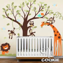 Nursery Wall Decals Etsy Wall Decal Safari Land Nursery Wall Decal By Wcookie On Etsy