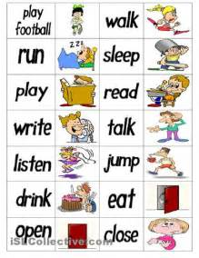 132 best images about speech therapy verbs on
