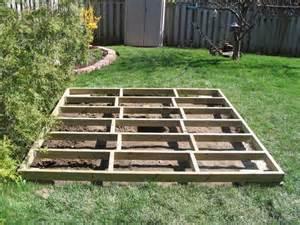concrete blocks as shed foundation reanimators