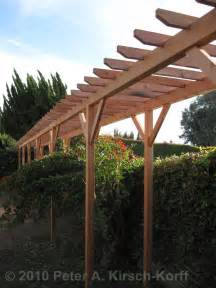 Build A Simple Pergola by West Los Angeles Wooden Grape Arbor Perfect For Homes In