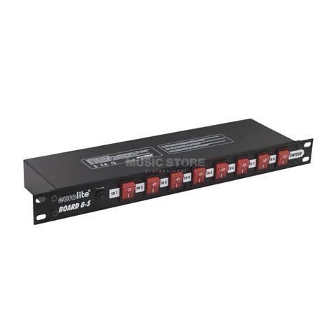 lade elettriche eurolite board 8 s schaltpanel 8x kaltger 228 tebuchse