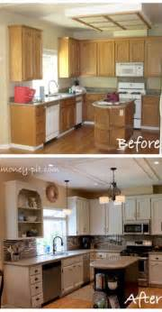 Cheap Kitchen Makeover Ideas by 25 Best Ideas About Cheap Kitchen Makeover On Pinterest