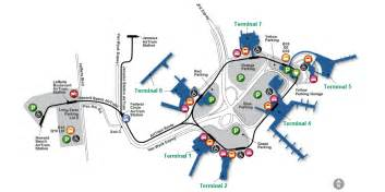 airport map airport guide jfk international airport