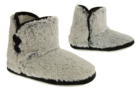 coolers slipper boots womens warm booties boot