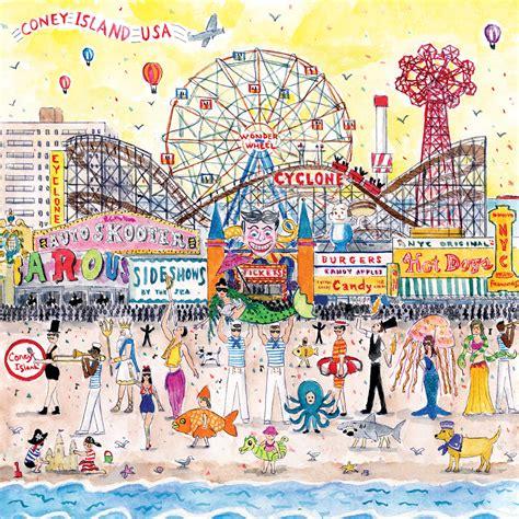 theme park offerings crossword michael storrings summer at the amusement park 500 pc