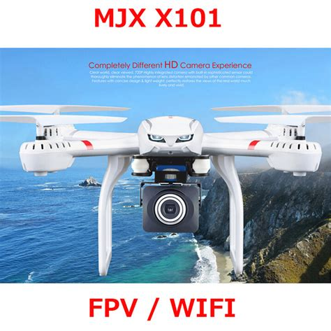 Mjx X101 With 5 Mp Wifi Hd Drone Quadcopter drone mjx x101 fpv quadcopter wifi headless one key return flying drones can c4018 hd fpv