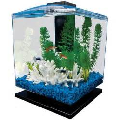 Aquarium Decorations Walmart by Tetra Aquarium Cube Tank 1 5 Gallons Walmart