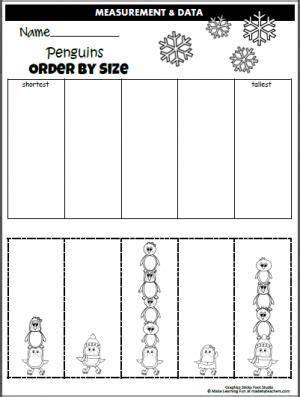 december preschool worksheets worksheets penguins and cut and paste penguins and worksheets on pinterest