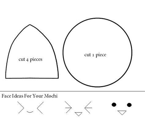 felt plushie templates how to make a kawaii mochi plushie tutorial hapy friends
