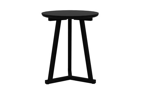 Tripod Side Table Ethnicraft Tripod Side Table Bedside Tables Bed Company