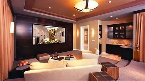 modern home theater room design