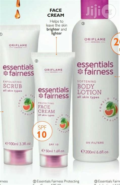 Essentials Fairness Lotion essential fairness exfoliating scrub and lotion for sale in lokogoma buy skin