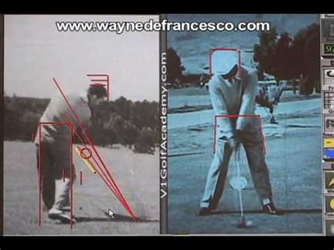 ben hogan slow motion golf swing ben hogan golf swing analysis youtube